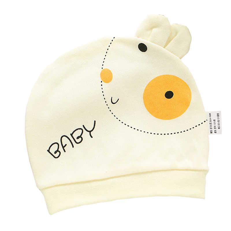 100% Katun Kartun Bayi Baru Lahir Lembut Rumah Sakit untuk Anak Laki-laki dan Perempuan Topi Lucu Bayi Anak Laki-laki Anak Perempuan Topi