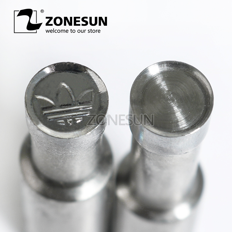 ZONESUN A shape Table Press 3D Punch Mold Candy Milk Punching Die Custom Logo For punch die TDP0/1.5/3 Machine FREE SHIPPING цена