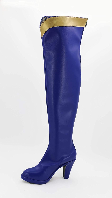 KonoSuba: Gods Blessing on this Wonderful World! Aqua Cosplay Boots Shoes Custom Made