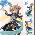 Sword Art Online Figure Action Figure Shirica 160mm PVC SAO Action Figure Sword Art Online PULCHRA  Japanese Anime Figures Toys