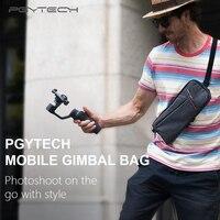 PGYTECH Handbag Waterproof Carrying Bag Storage Package/gimbal bag for DJI OSMO Mobile 1 2 zhiyun Smooth 4 Q Gimble Accessories