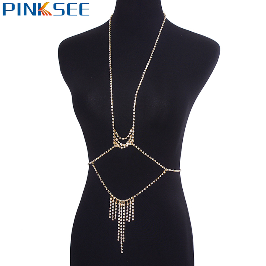 Sexy Crossover Waist Belly Butterfly Backdrop Bikini Chain Beach Jewelry  Gold Silver Color Rhinestone Body Chain Necklaces-in Body Jewelry from  Jewelry ... dcb17551092f