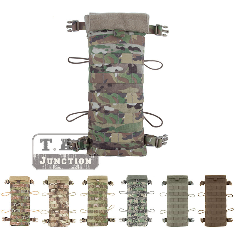 Emerson Tactical LBT-2649E Style 2.5L Hydration Back Rear Panel Pouch EmersonGear MOLLE Water Bladder Bag Carrier Holder