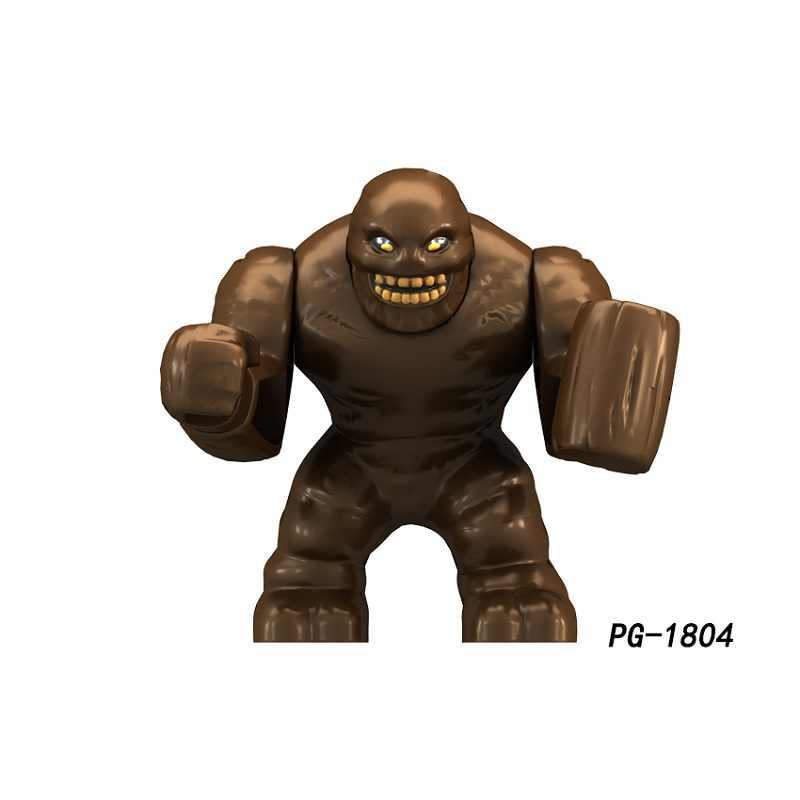 Venta única 7CM figuras de gran tamaño superhéroes rinoceronte hijo de Hulk lagartija gigante bloques de construcción mejores juguetes de regalo para niños