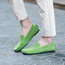 NORTHMARCH Men Casual Shoes 2018 New Fashion Leather Shoes Men Slip-On Hollow Out Breathable Driving Shoes Mens Moccasins Homme