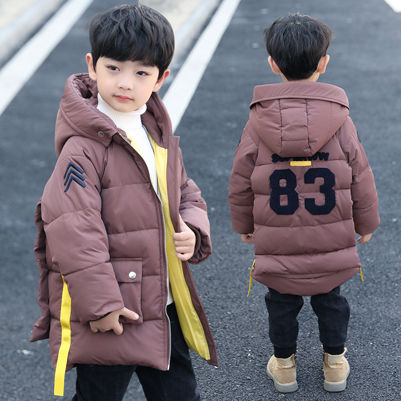 Boy Coats Children's Winter Jackets 2018 Brand Big Boys Thick Warm Winter Coat Windproof Outerwear Kids Overcoats Parka Clothing winter men jacket new brand high quality candy color warmth mens jackets and coats thick parka men outwear xxxl