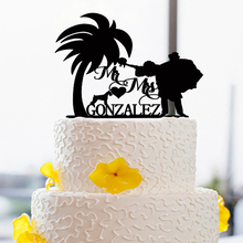 Creative Bride & Groom Cake Topper For Wedding Acrylic Party Ad Wedding Cake Toppers Custom