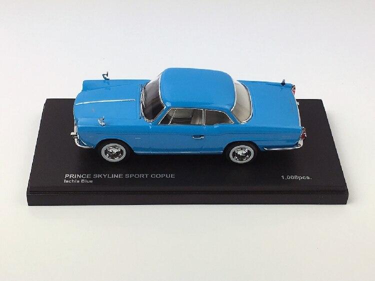Nissan Prince Skyline Sport Coupe blau 1:43 Kyosho diecast