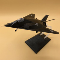 1:72 Static Airplane Model F117 Night Hawk Free Shipping