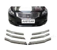 Car Styling Trim Chromed Grill Grille Trim Cover For Honda Accord 2008 2009 2010 2011 2012