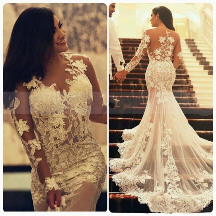 Lace Mermaid Wedding Dress Tumblr - Missy Dress