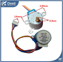 98% new good working for Air conditioner control board motor 24BYJ48 12v DC Leaf swing motor 2pcs/lot