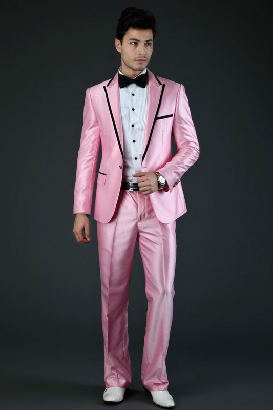 Nice Pink Prom Suits Images - Wedding Dress Ideas - sagecottage.us