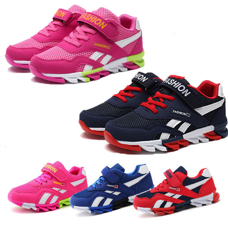 2019 Spring/Autumn Children Shoes Boys Sports Shoes Fashion Brand Casual Kids Sneaker Outdoor Training Breathable Boy Shoes 4829