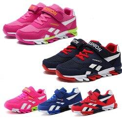 2019 primavera/outono crianças sapatos meninos sapatos esportivos marca moda casual crianças tênis de treinamento ao ar livre respirável menino sapatos 4829