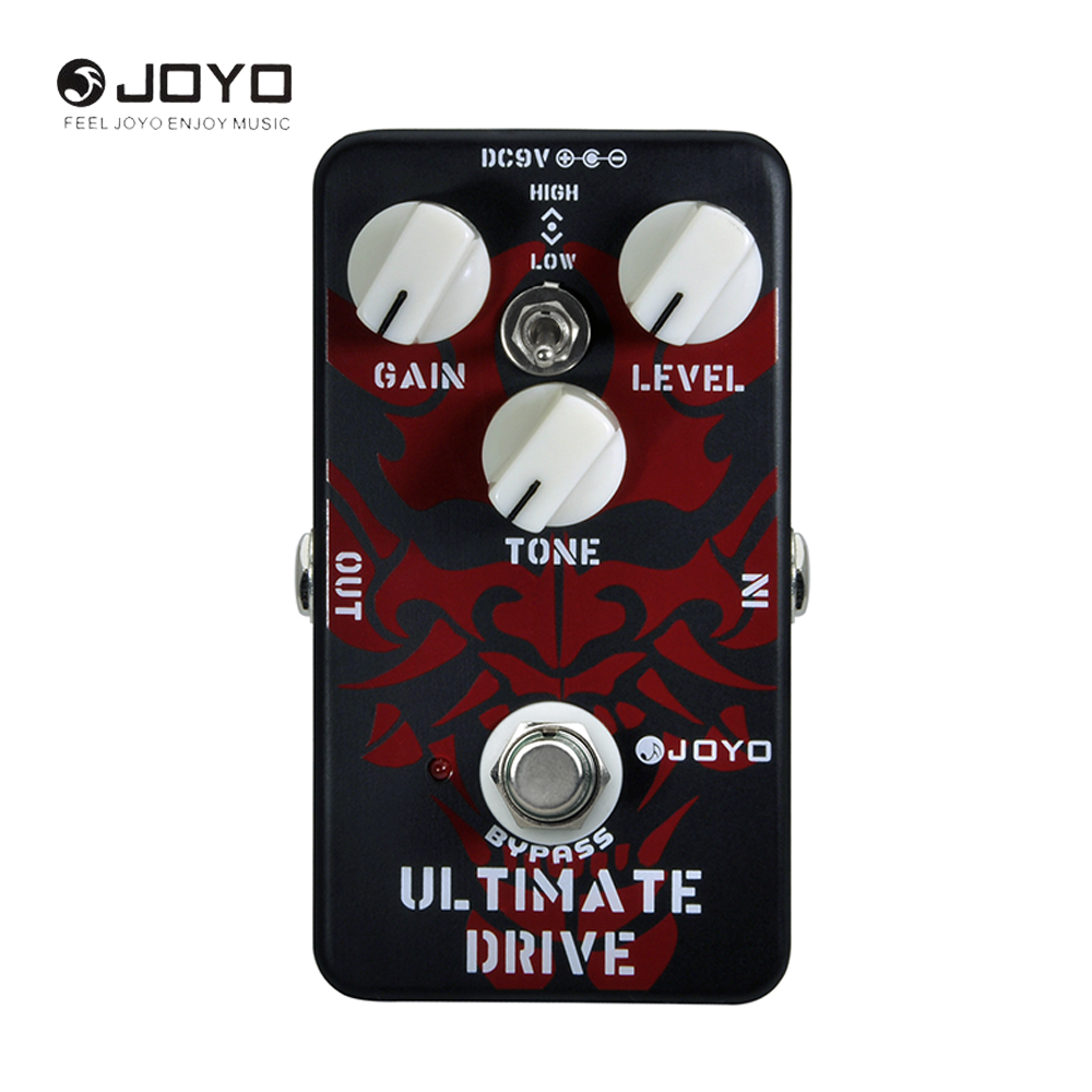 JOYO JF-02 OCD Ultimate Drive Electric Guitar Pedal Effect With True Bypass Wiring Different Sounds High Low Tone Switch аксессуары для гитары ultimate jf 02 joyo jf 02