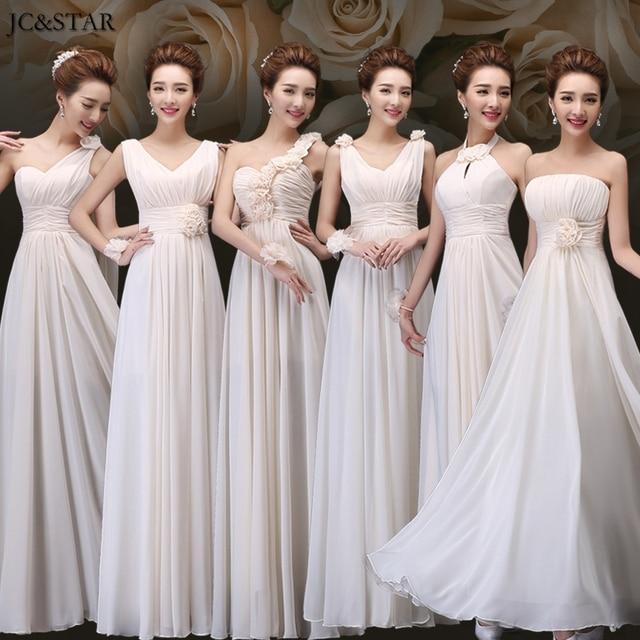 JC&STAR Custom made long Navy Blue Turquoise Bridesmaid Dresses ...