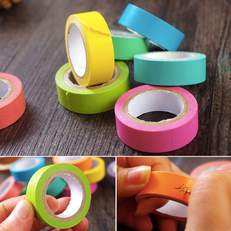 Fashion 10 Rolls Sticky Post It Note Paper Memo Pad Gift Office School Decoration Supplies Paper Tape Write Note Shredded