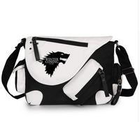 Game Of Thrones A Song Of Shoulder Handbag Bag School Canvas Casual Zipper Boys Girl Crossbody