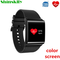 X9 Pro OLED Colorful Screen Passometer Smart Bracelet Blood Pressure Heart Rate Monitor Bluethooth Fitness Tracker