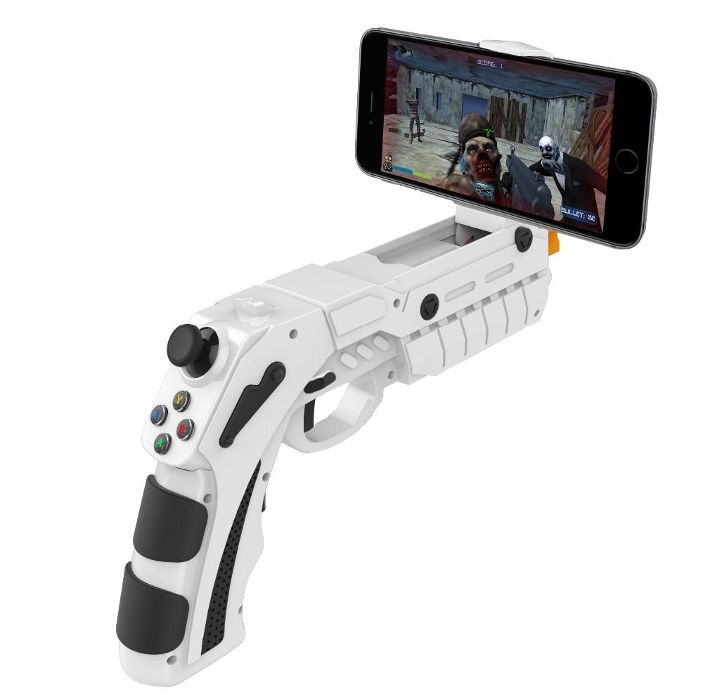 IPEGA 9082 PG-9082 Bluetooth Shooting AR Gun Game Magic Gun Game Controller Gamepad Joystick for Android iOS Phone PC AR intelligent ar gun ar86