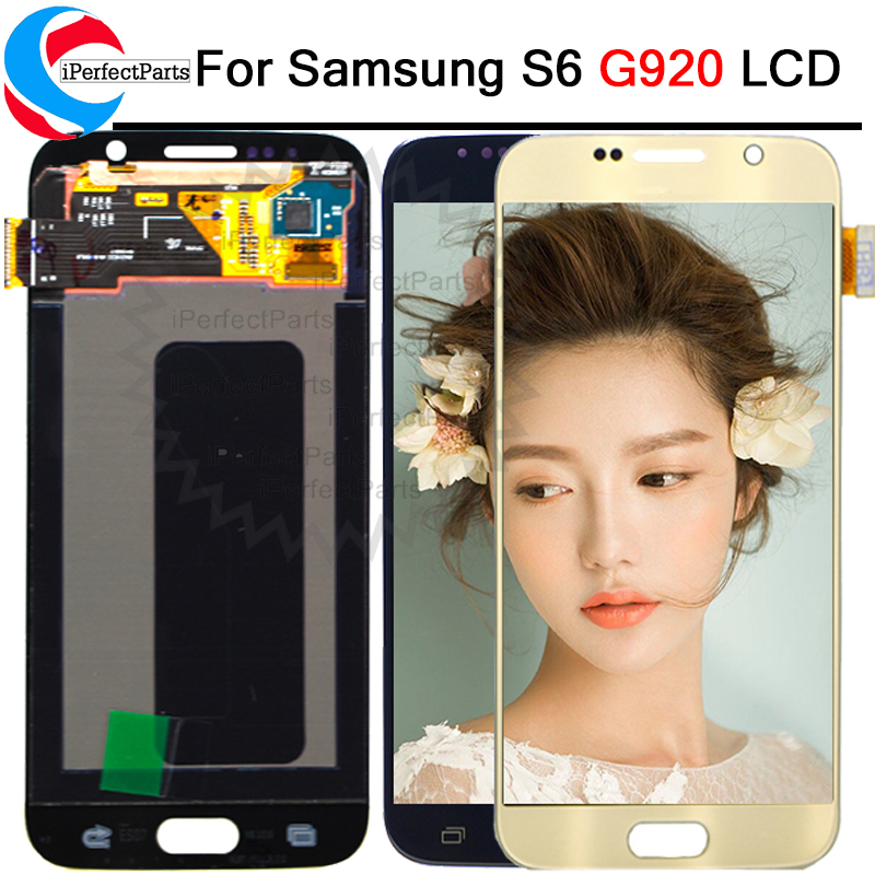 5 1 For Samsung galaxy S6 lcd display touch screen digitizer G920i G920P G920f G920V G920A