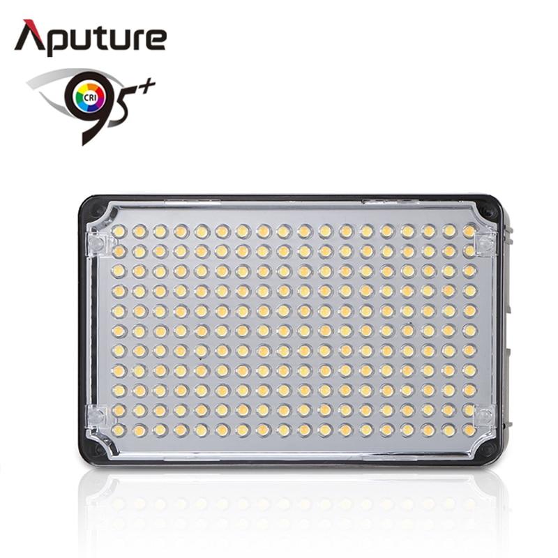цена на Aputure Amaran CRI 95 AL H198C LED Video Light Lamp 5500K / 3200K Dimmable for Canon Nikon Pentax DSLR Camera Video Camcorder