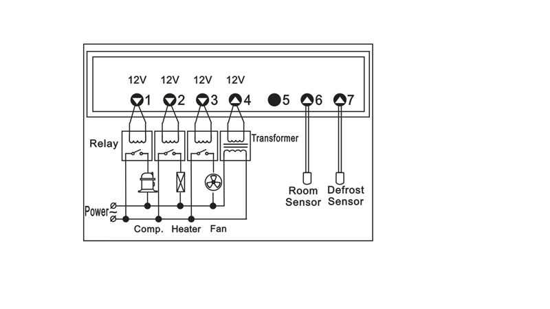 JC-605 JUCHUANG Digital Temperature Controller; Brand New