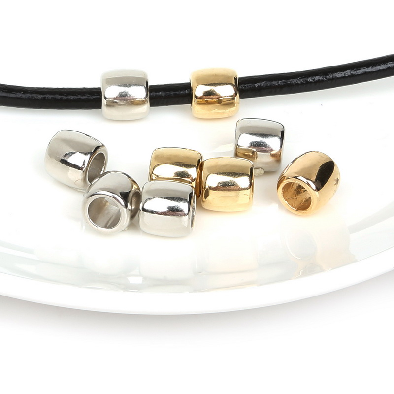 30pcs CCB Big Hole Beads Acrylic Beads Plastic Beads European Loose ...