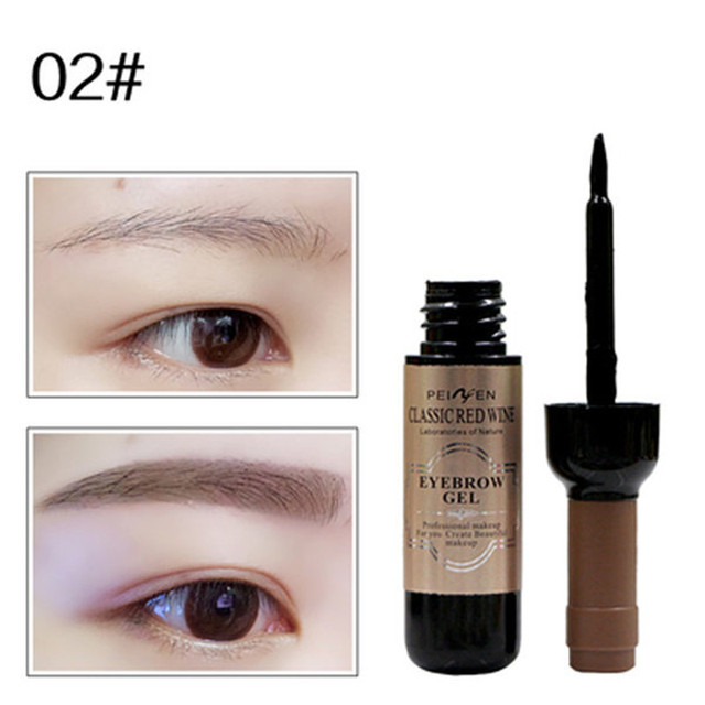 1Pcs Eyebrow Gel Black Coffee Gray Peel Off Eye Brow Shadow Eyebrow Tattoo Gel Cosmetics Makeup for Beauty High Pigmented Cream 3