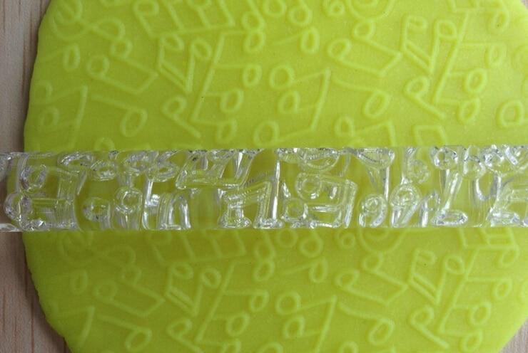 Figura della nota musicale di trasporto libero Trasparente Goffratura di  Rolling Pins strumenti artigianali zucchero Fondente Cake Decoration 6193a6af2e1f