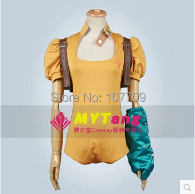 The Seven Deadly Sins Serpent's Sin of Envy Diane Cos Anime Cosplay Costume Uniforms Clothing Unisex