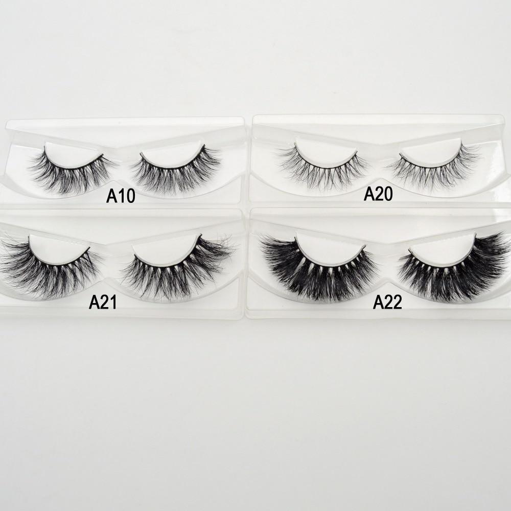 Free DHL 100pairs Visofree Eyelashes Mink False Eyelashes Handmade Mink Collection 3D Dramatic Lashes 32 Style Glitter Packaging