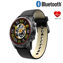 Kingwear kw99 smart watch with sim card slot Google play stopwatch heart rate monitor Android 5
