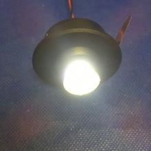10pcs/lot Ac230v  white Mini Led Spot Light Cabinet Lamp 3w High Power White Warm Indoor Lighting