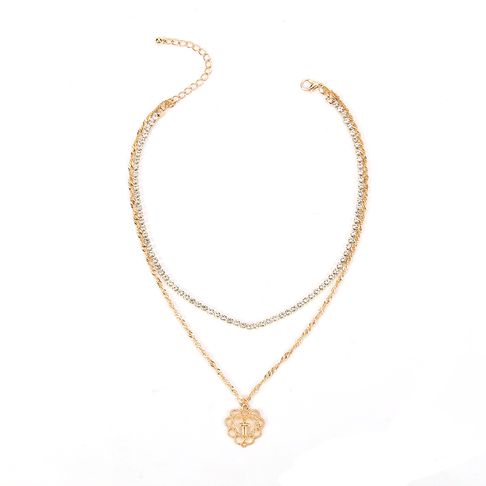 multilayer pendant shop phoenix rakuten product jewelry earrings love necklace women heart fashion set stud