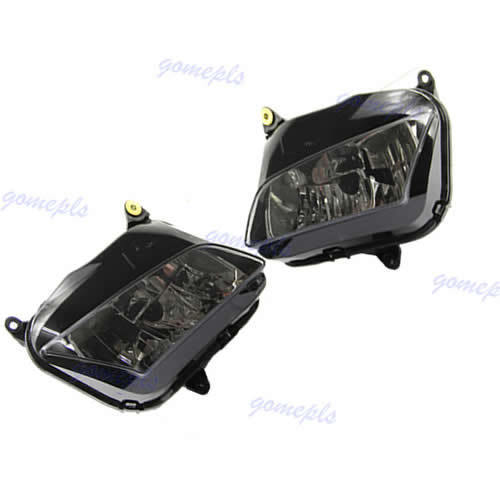 1Pair Motorcycle Headlight Head light For <font><b>Honda</b></font> CBR600RR <font><b>CBR</b></font> <font><b>600</b></font> RR F5 2007 <font><b>2008</b></font> 2009 2010 2011 image