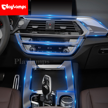 Stickers For BMW X1 X3 TPU Interior Sticker Transparent Protective high quality Film stickers and decals for
