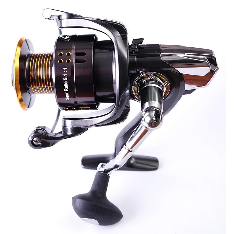 2000 Seires Spinning Fishing Reels 12 + 1BB High Speed 5.2: 1 - Pescando