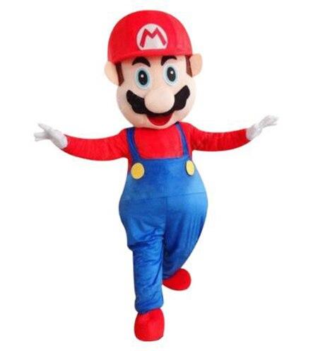 Mascotte Costume adulte Super Mario mascotte Costume haute qualité Super Mario mascotte Costume fantaisie carnaval fête