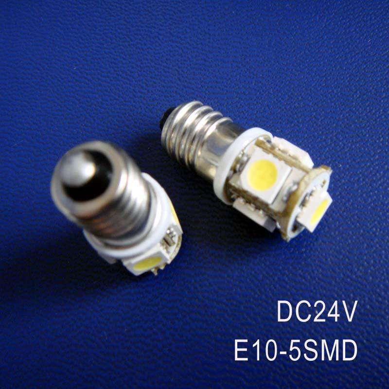 High quality DC24V 1W <font><b>E10</b></font> <font><b>led</b></font> dashboard warning indicator,<font><b>led</b></font> instrument light,<font><b>E10</b></font> <font><b>LED</b></font> Lamp Bulb Lights free shipping 20pcs/lot