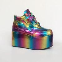 Принцесса сладкий панк обувь весна и осень обувь на заказ для отдыха камуфляж многоцветная обувь Восхождение не устали женщины an5125