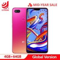 Оригинальная глобальная версия Xiaomi mi 8 Lite 4 GB 64 GB 6,26