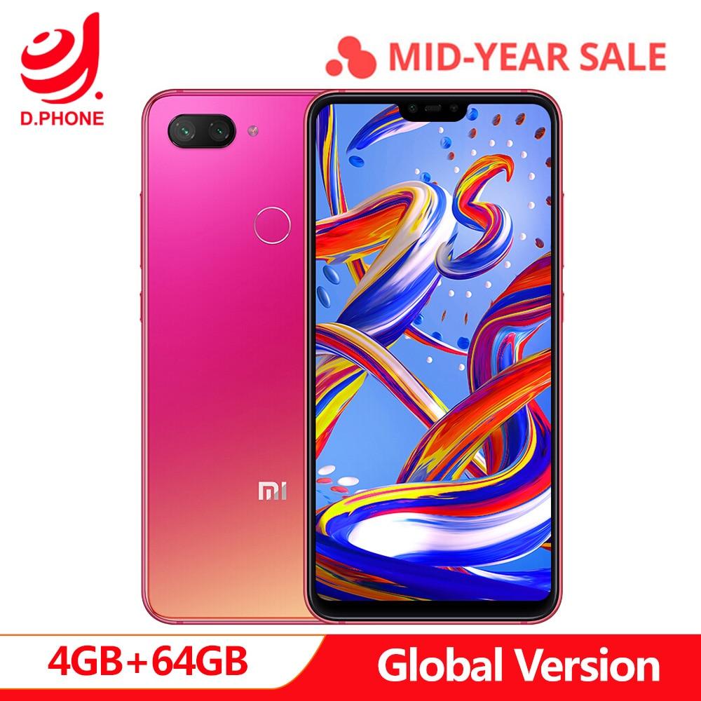 Version originale mondiale Xiao mi 8 Lite 4 GB 64 GB 6.26