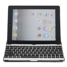 Aluminum Wireless Bluetooth 3.0 Keyboard Stand Case Cover Dock For iPad 2 3 4 New Design For iPad Case Cover For iPad 2 3 4
