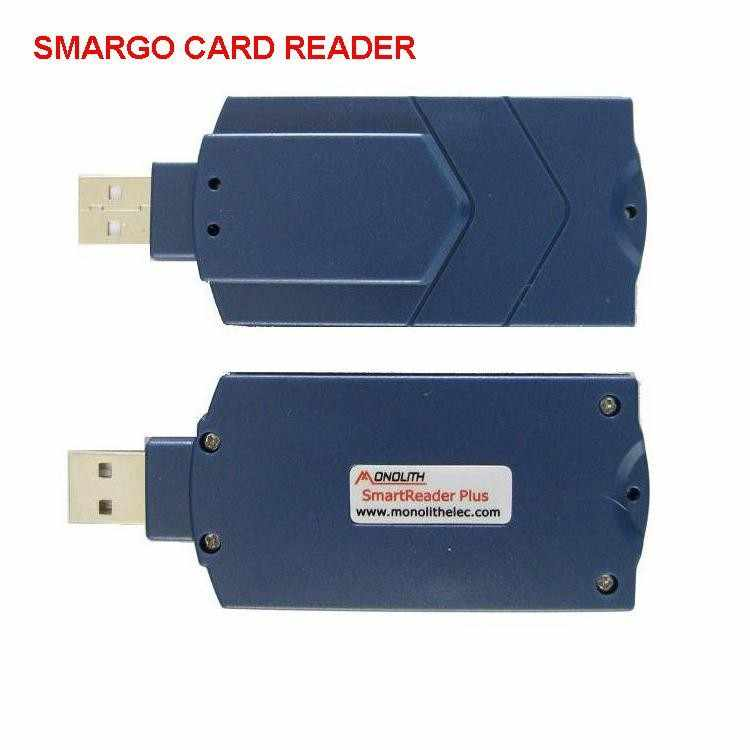 satellite smart card reader similar as smargo for card share server cccam  oscam