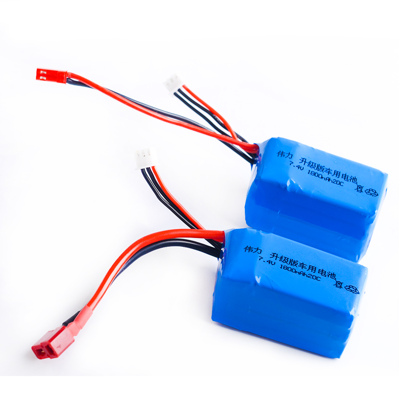 1pcs Li-Polymer 2S Lipo Battery 7.4V 1800mah 20C Max 40C for Wltoys A959-b A969-b A979-b K929-B RC Car Boat Quadcopter FPV вытяжной вентилятор diciti standard 5