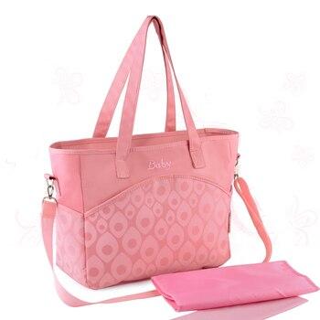 Travel Baby Maternity Mummy Mom Changing Nappy Diaper Bag Mother Handbag Nappy Bags Mochila Maternidade BA025 фото