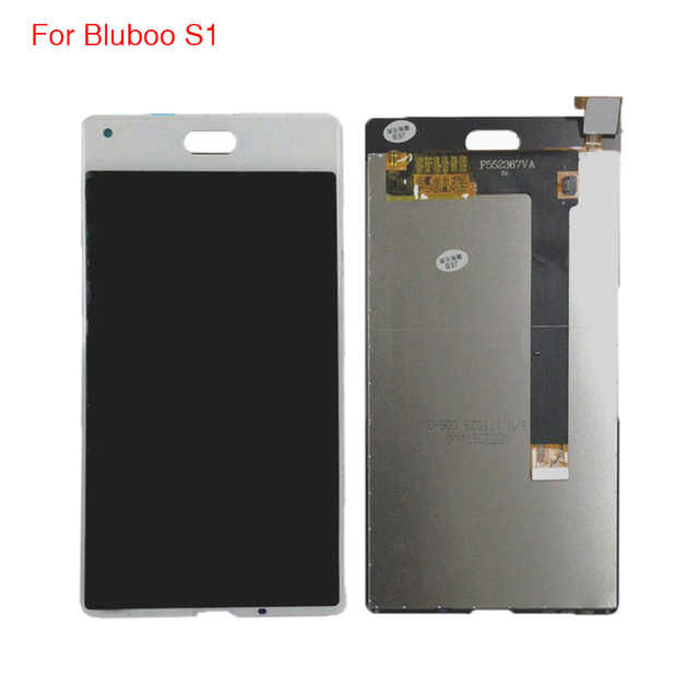 100% Tested LCD Display  For Bluboo S1 Phone Parts For Bluboo S1 Display Free Tools