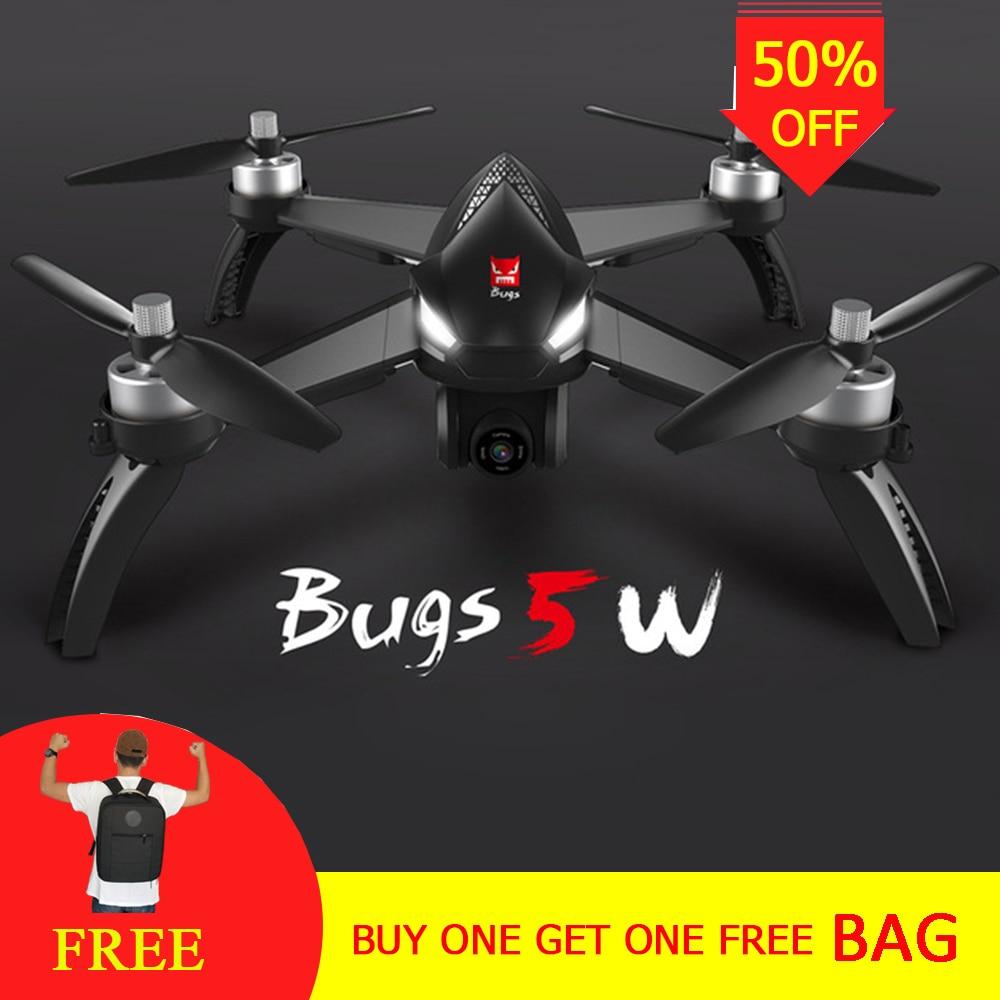 Professionnel Caméra Drone B5W RC Drone 5 3gwifi FPV 1080 p Caméra/Waypoints/Point d'intérêt/Altitude tenir/Une Clé Suivre